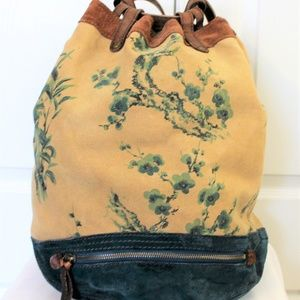 Lucky Brand Vintage Inspired Backpack